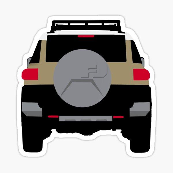 Minimalist FJ Cruiser  Sticker