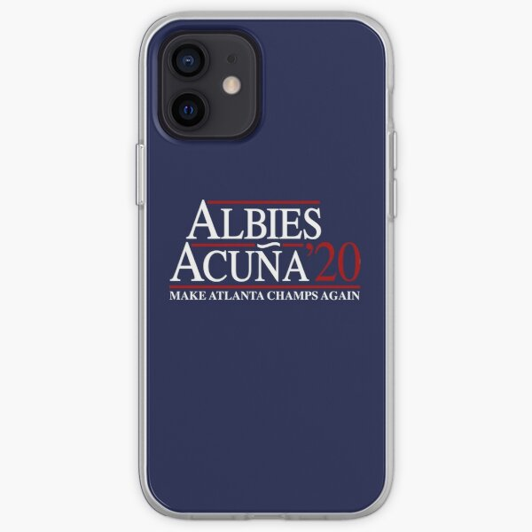 Ozzie Albies & Ronald Acuna Jr. '20 2020 Make Atlanta Champs Again iPhone Soft Case