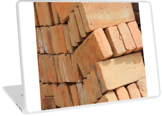 Bricks at a Construction Site by rhamm