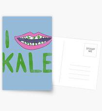 I Heart Kale Postcards