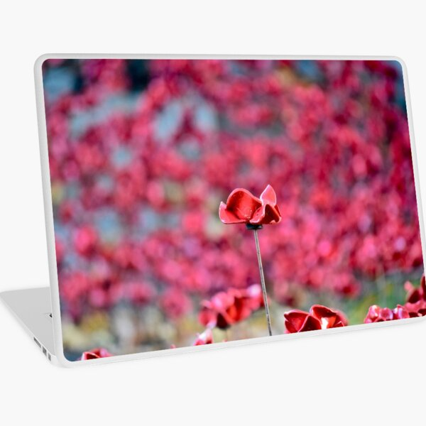 Poppy Laptop Skin