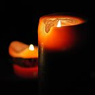 Christmas Candles by Andrew Lawrence