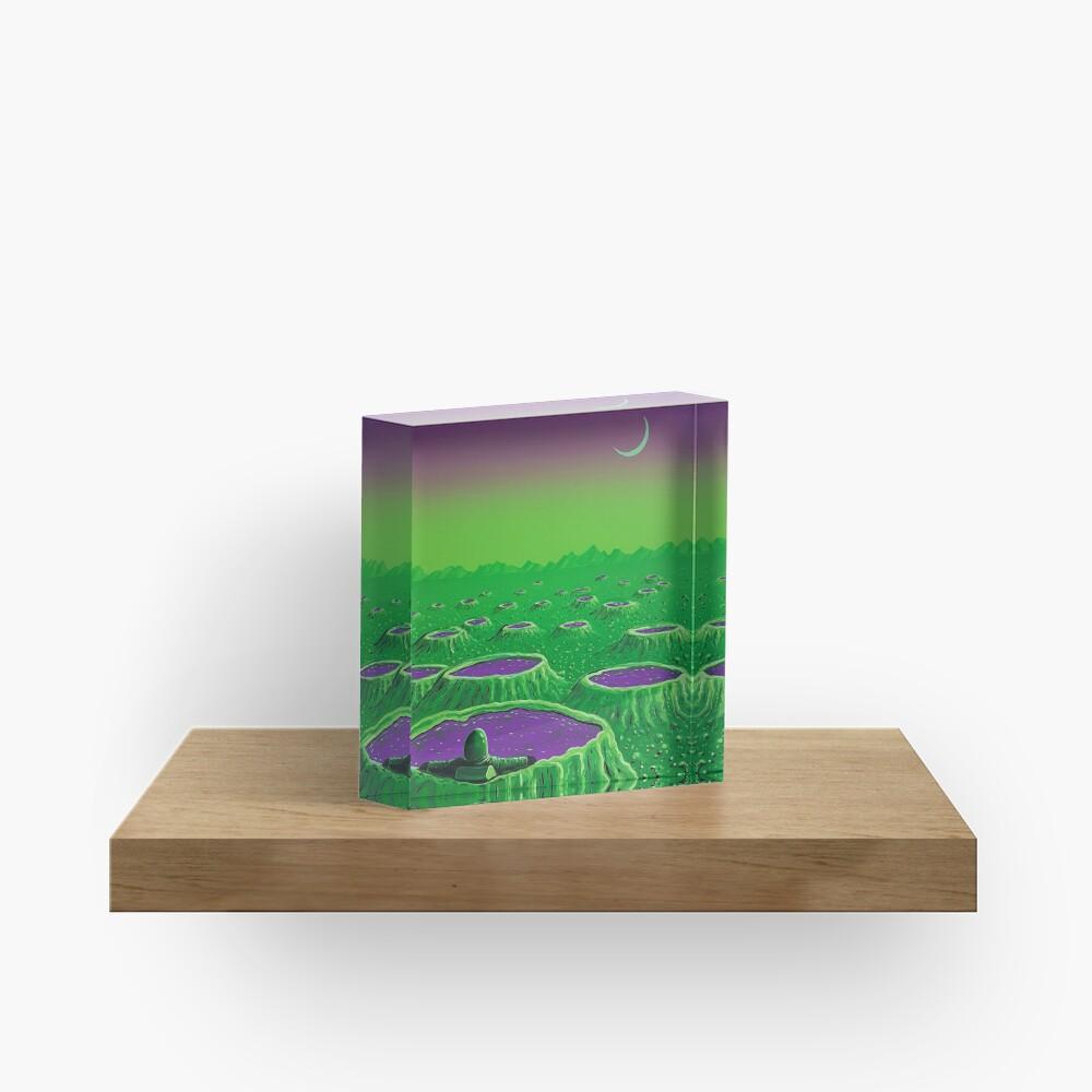 Spa Day Acrylic Block