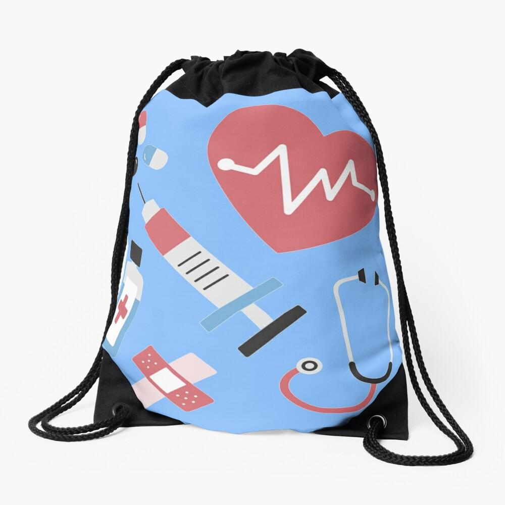 Medical Medicine Design Drawstring Bag