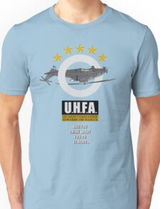 Upside-down Helicopter Flying Association Unisex T-Shirt