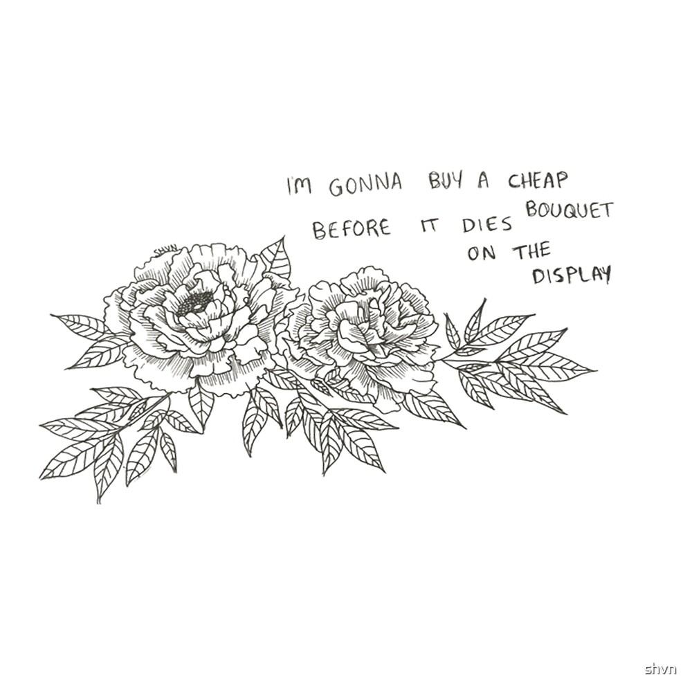 The Cheap Bouquet  by shvn