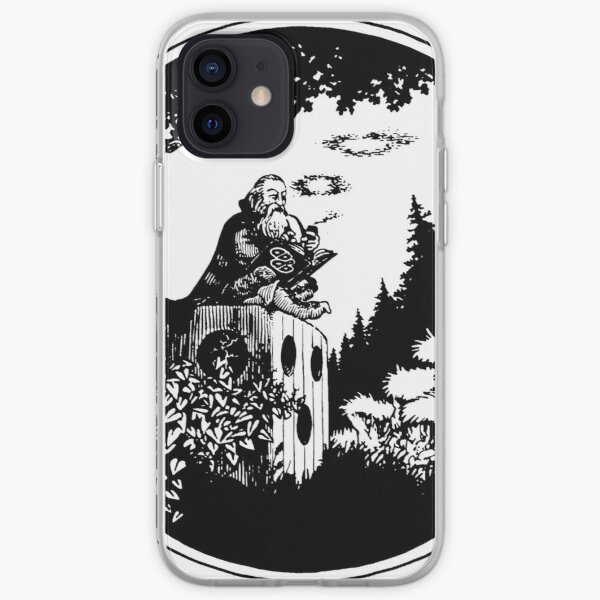AD&D Smoking Wizard iPhone Soft Case