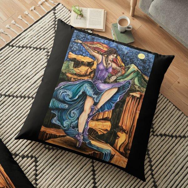 Garden of the Goddess Floor Pillow