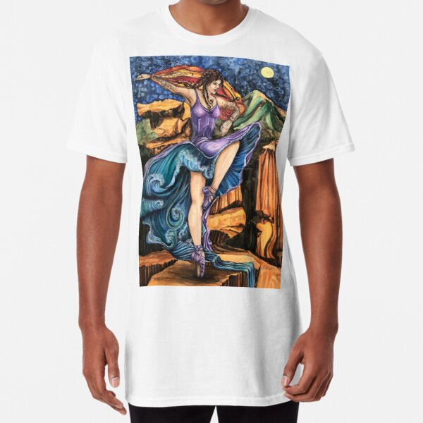 Garden of the Goddess Long T-Shirt