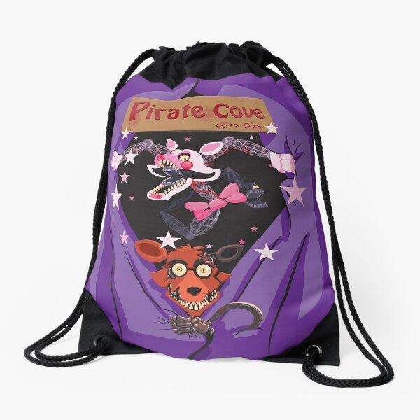 We Love Foxy and Mangle Drawstring Bag