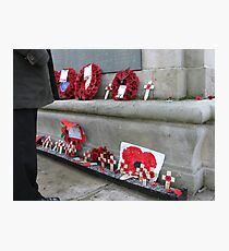 REMEMBERANCE DAY Photographic Print