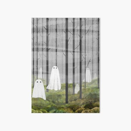 The Woods are full of ghosts Art Board Print