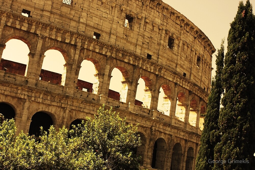 Ancient Colosseo by George Grimekis