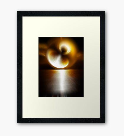 Sunstorm Framed Print