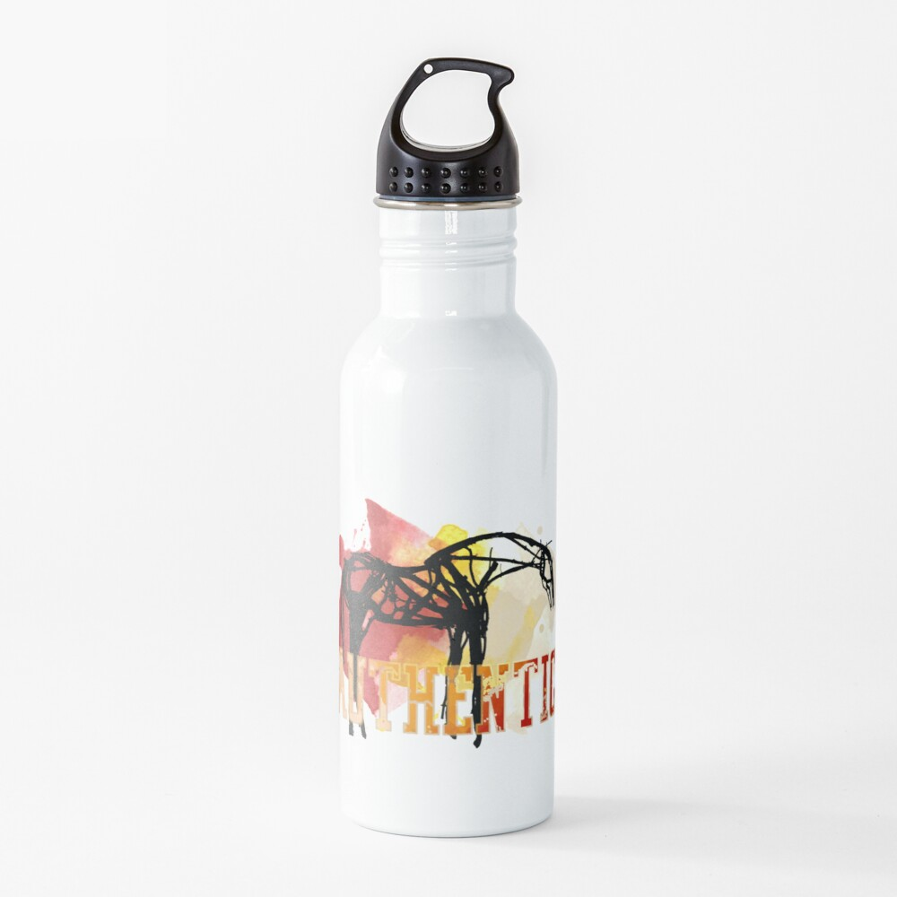 AUTHENTIC - horse racing favorites Water Bottle