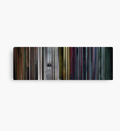 Moviebarcode: The Animatrix 5: Program (2003) Canvas Print