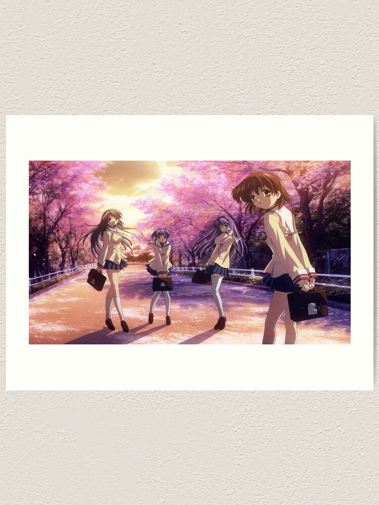 Clannad Clannad After Story Characters Art Print By Kaori