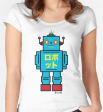 SCULL BOT Women's Fitted Scoop T-Shirt