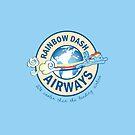 Rainbow Dash Airways by Rachael Thomas