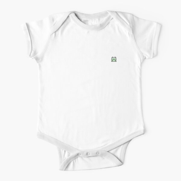 smol frog Short Sleeve Baby One-Piece