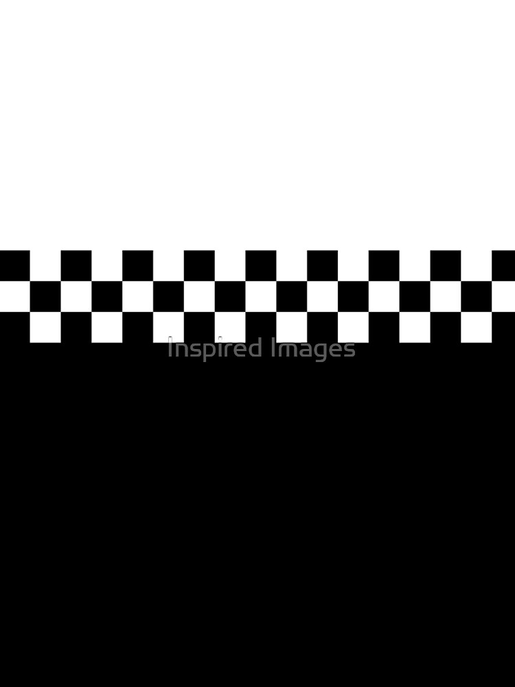 Two Tone Mod Ska 60s Retro Black & White  by ImageMonkey
