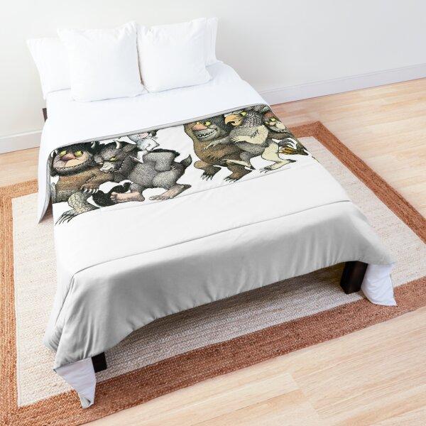 Wild Things Romp Graphic Comforter