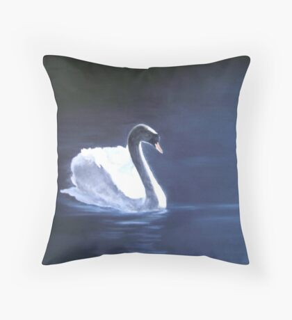 Angels can Swim Throw Pillow