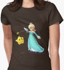 Camiseta entallada para mujer Rosalina y Luma