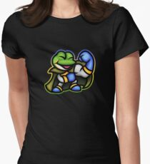 Frog Wins! Women's Fitted T-Shirt