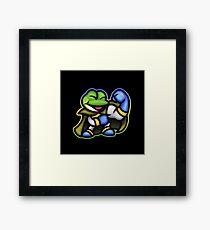 Frog Wins! Framed Print