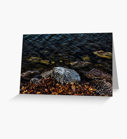 Under These Rocks and Stones Greeting Card
