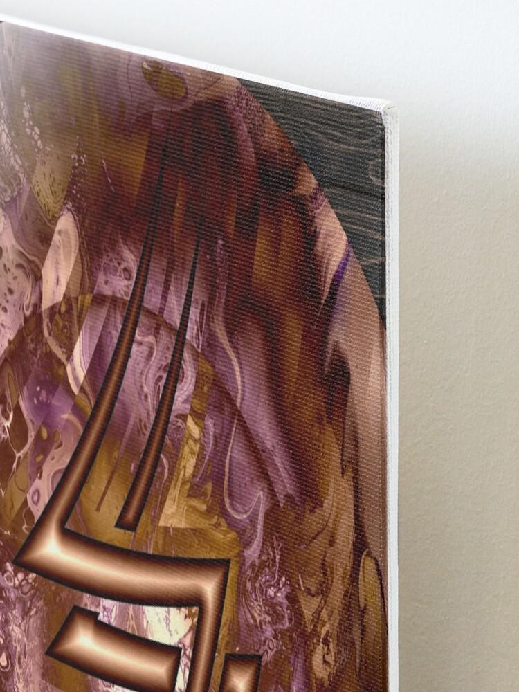 Alternate view of Copper Shield, Lightning Bolt Mounted Print