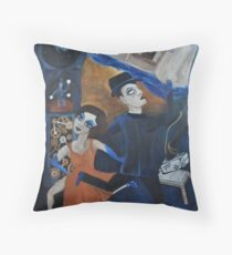 Artnapping III: Capture by Tango Throw Pillow