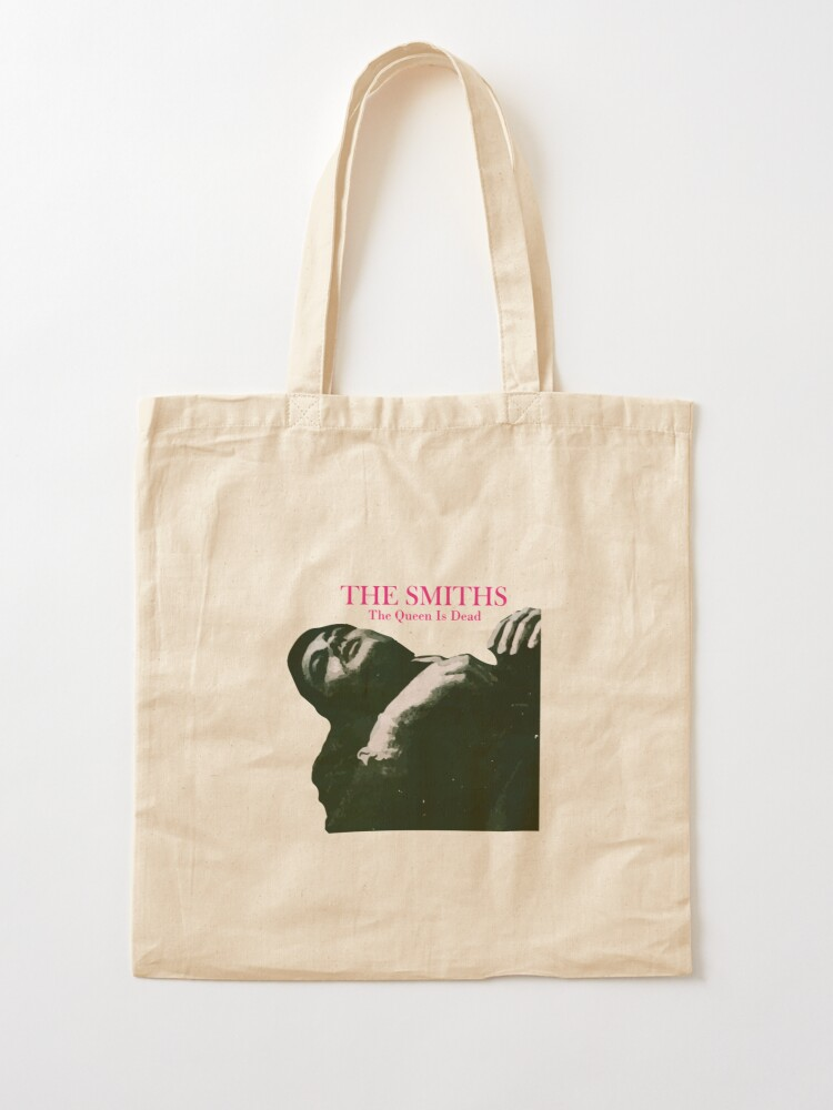 Alternate view of The Queen Is Dead Graphic Tote Bag