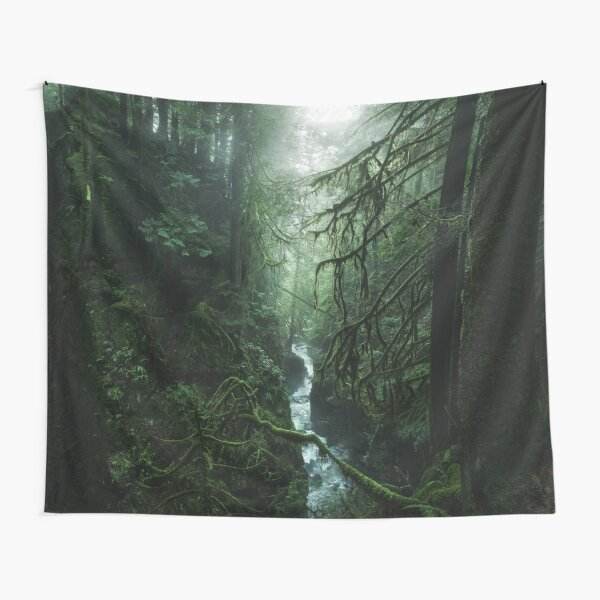 Verdant Solace (Tapestry Crop) Tapestry