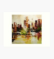 Central Point of View Art Print