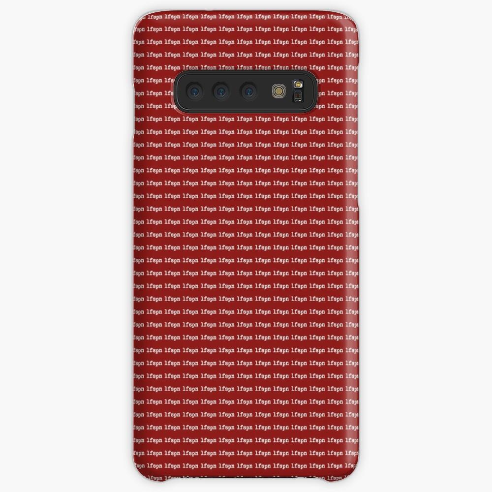 lfspn BOX (white) Case & Skin for Samsung Galaxy