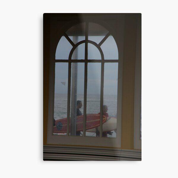 Surfers Have A Narrow Window Of Opportunity Metal Print