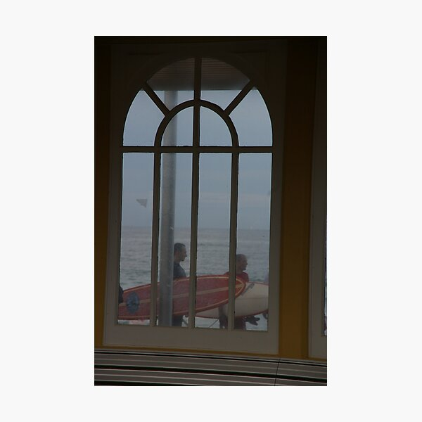 Surfers Have A Narrow Window Of Opportunity Photographic Print