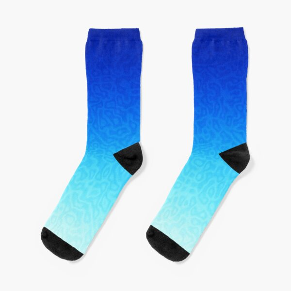 Brash & Sassy Blue Socks