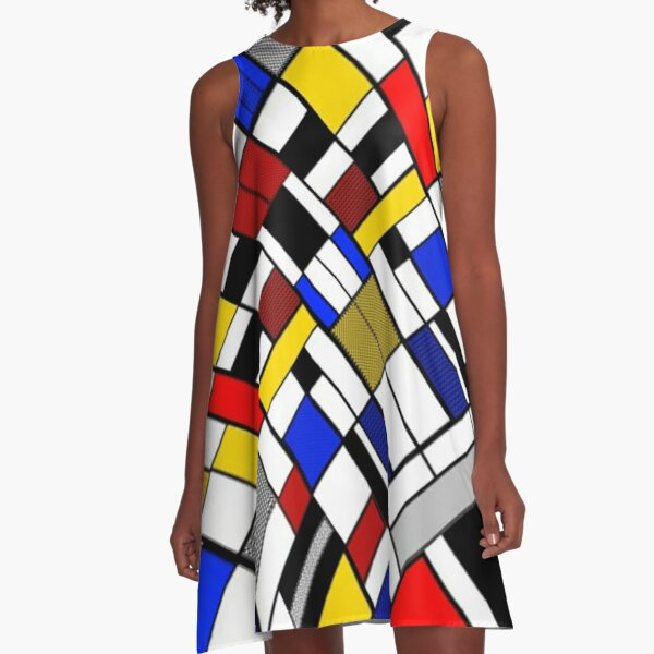 The Corner Piece A-Line Dress
