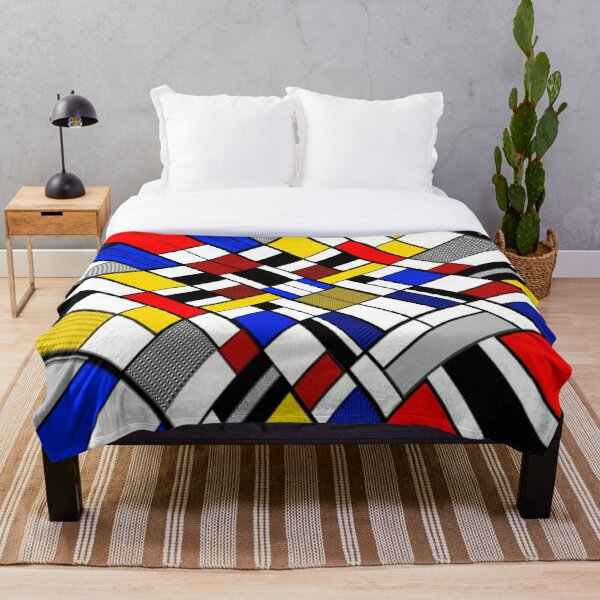 The Corner Piece Throw Blanket