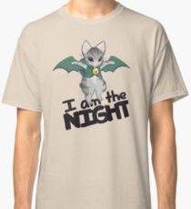 Gaelikitten - I am the NIGHT(dark blue) Classic T-Shirt