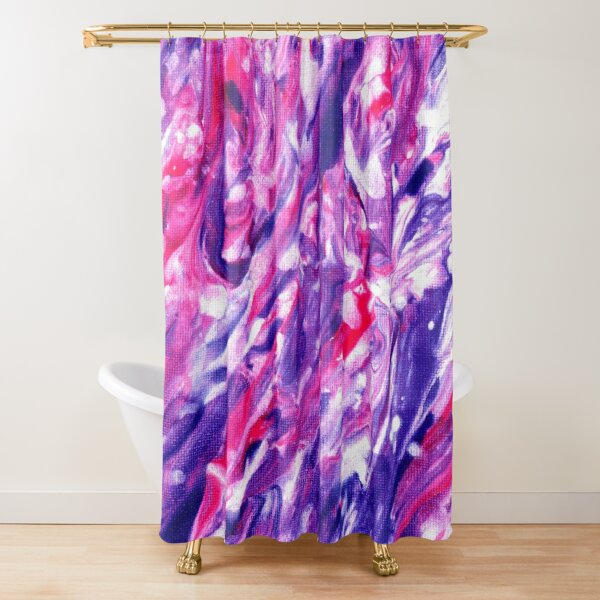 Violet Dreaming Shower Curtain