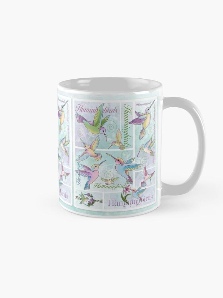 Alternate view of Hummingbird Flutterings Mug
