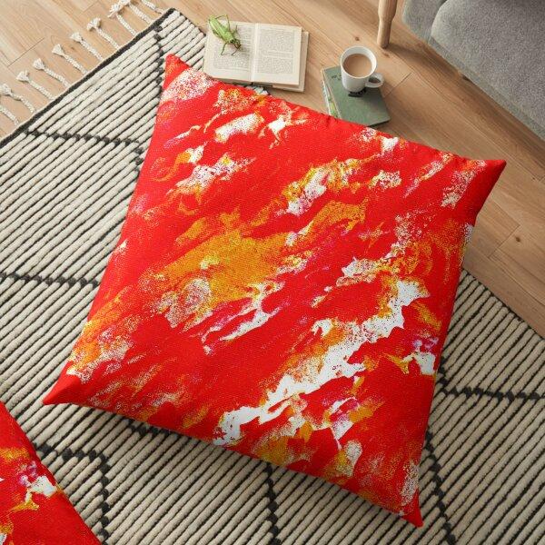 Fire Ball Floor Pillow