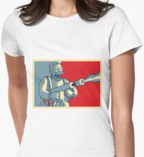 Hank Scorpio Womens Fitted T-Shirt