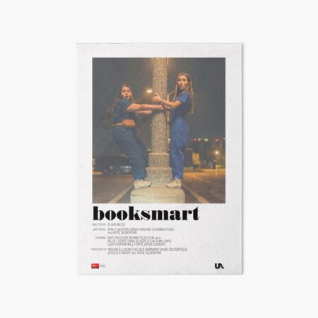 Booksmart Movie Poster Art Board Print