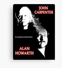 John Carpenter In Association With Alan Howarth Canvas Print