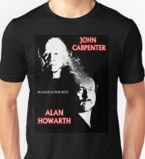 John Carpenter In Association With Alan Howarth Unisex T-Shirt